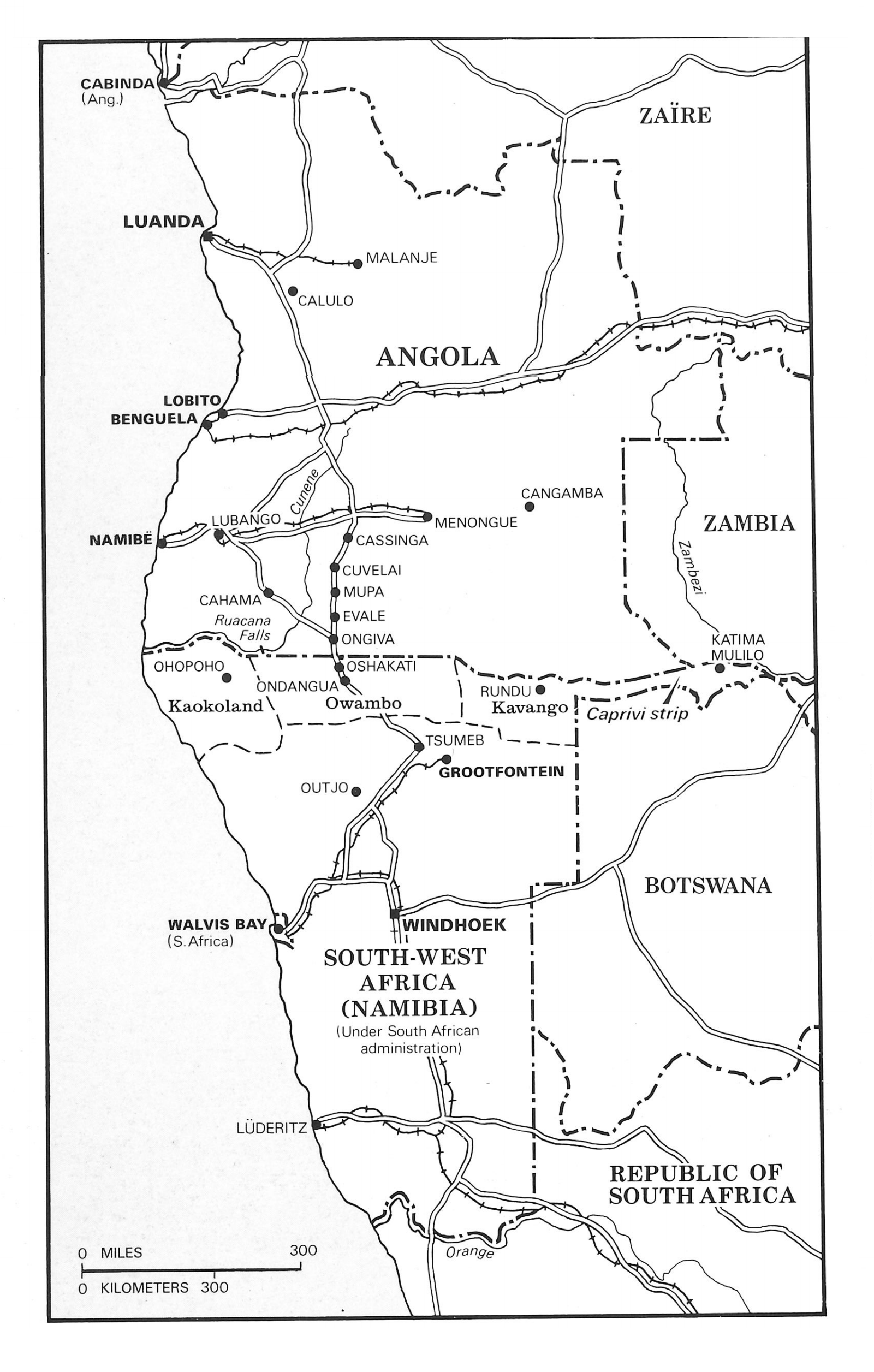 Angolan links and old maps