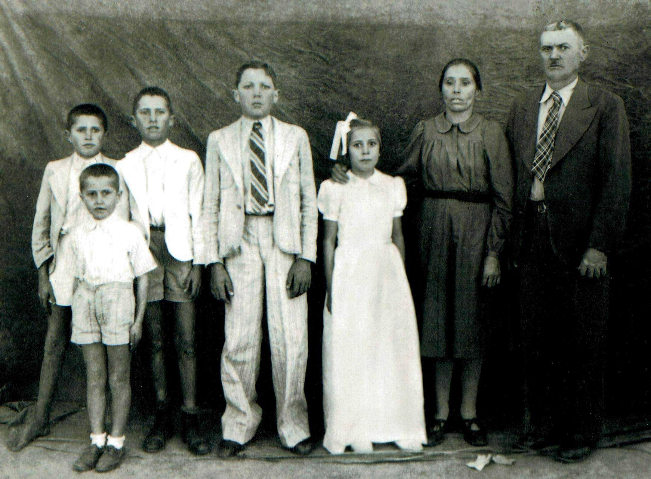 Familia: Roque-Rodrigues 1950s Angola