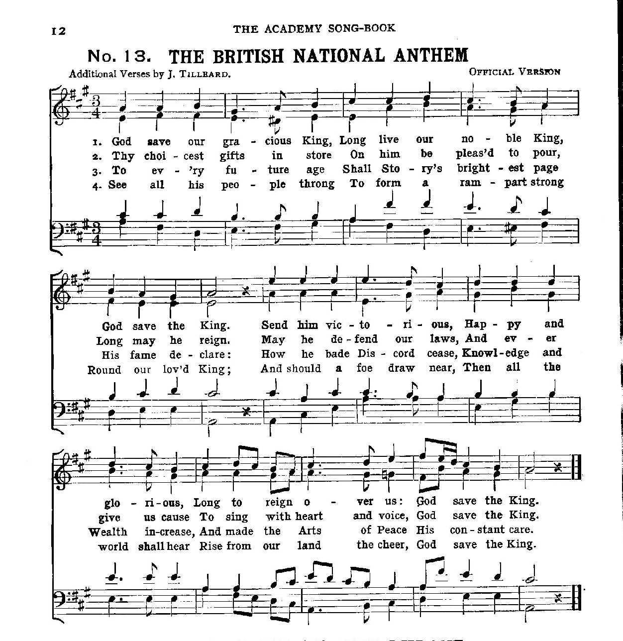 Anthems / Patriotic Songs Sheet music