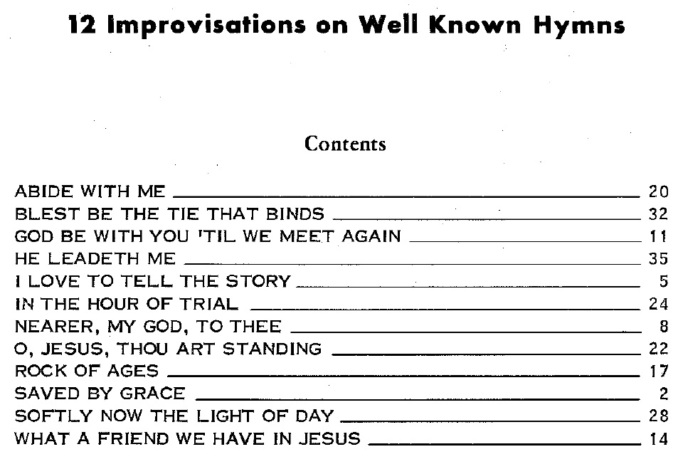 Great English and American Hymns Sheet music